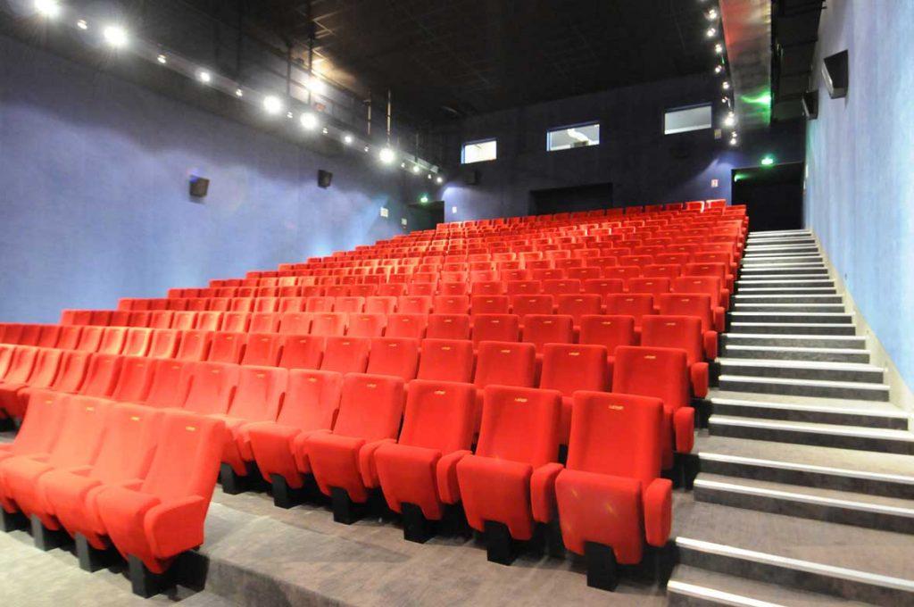 salle du cinéma Eldorado, île d'Oléron
