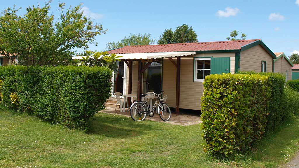 Camping la Brande, mobil home prestige