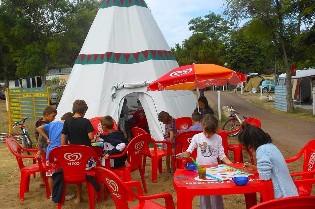 Camping Ostréa, Oléron, activités enfants