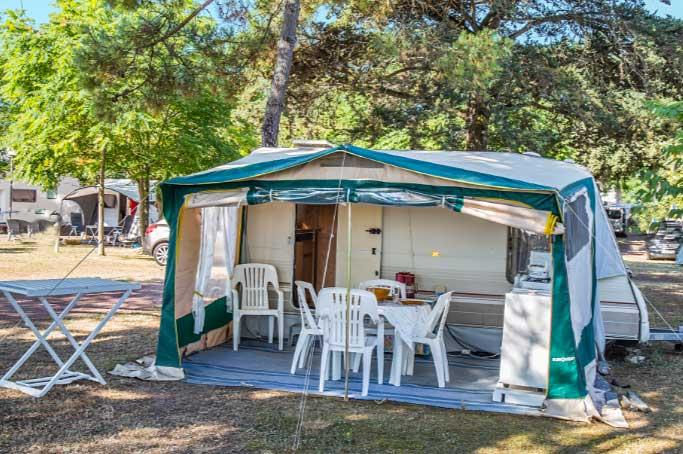 Camping Ostréa, emplacement tente, caravane, camping car