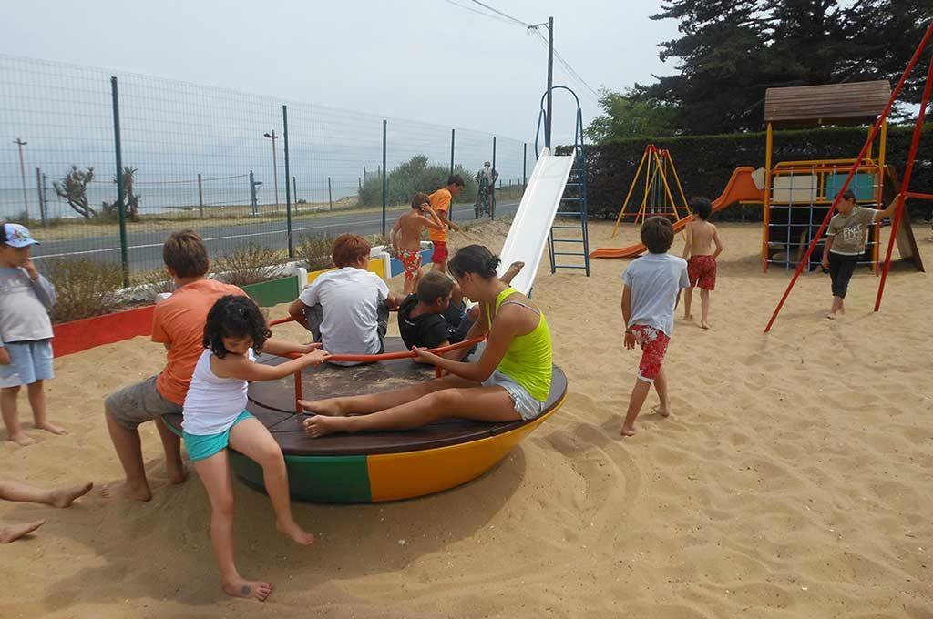 Camping Ostréa, Oléron, jeux enfants