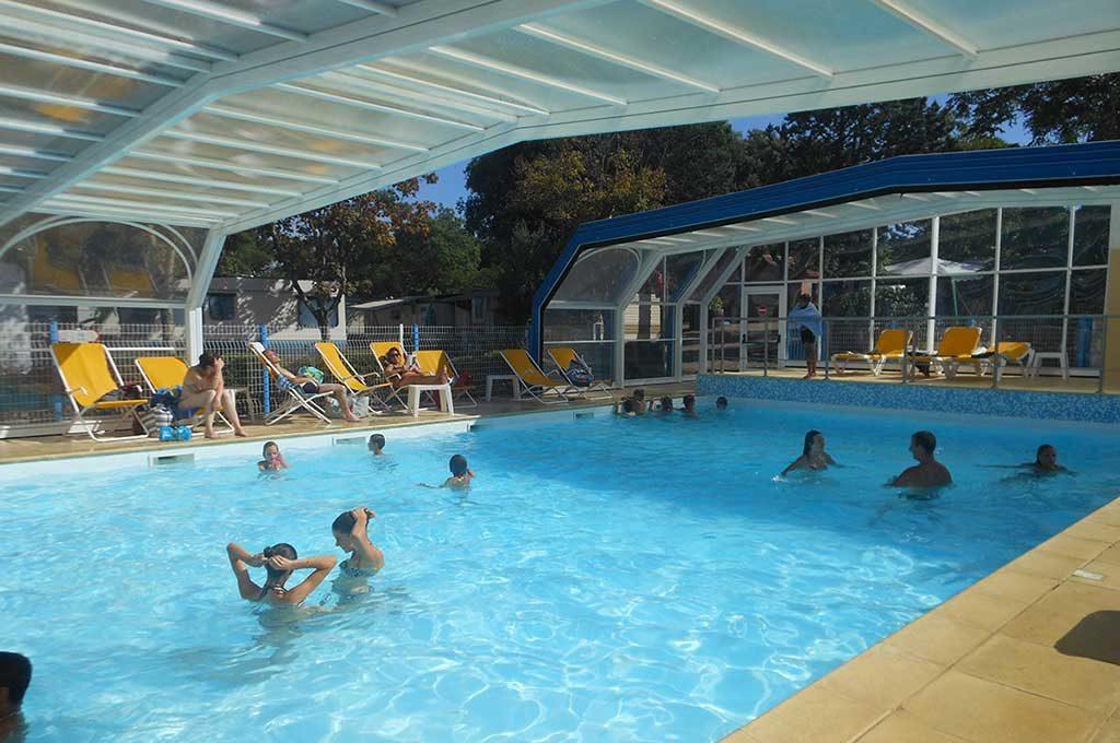 Camping Ostréa, Oléron, piscine