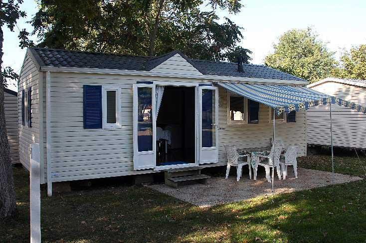 Camping Ostréa, Oléron, location mobil-home résidence