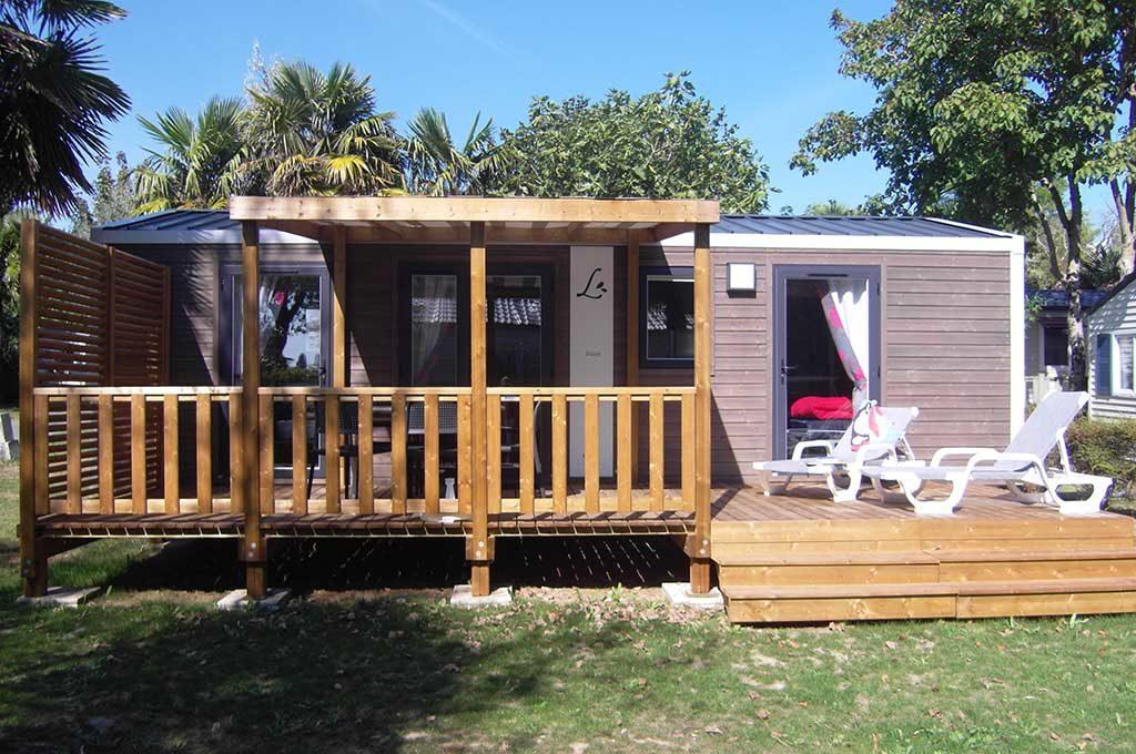 Camping Airotel île d'Oléron, location de mobil-home