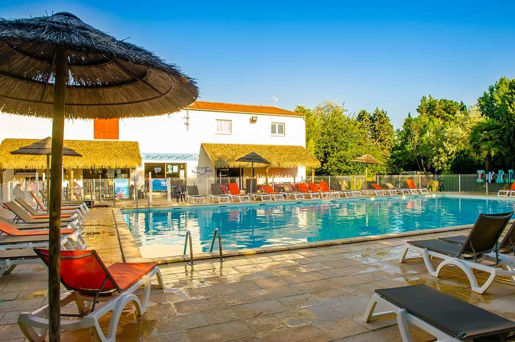 Airotel Oléron, piscine du camping
