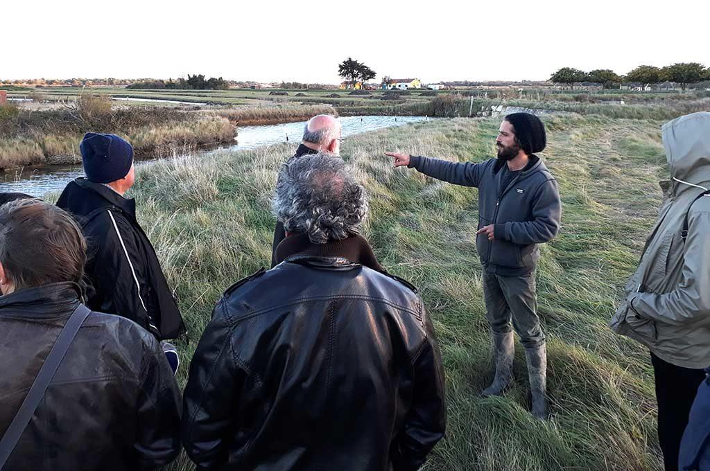 Rencontres Agricoles Inter-Îles, marais salants île d'Oléron