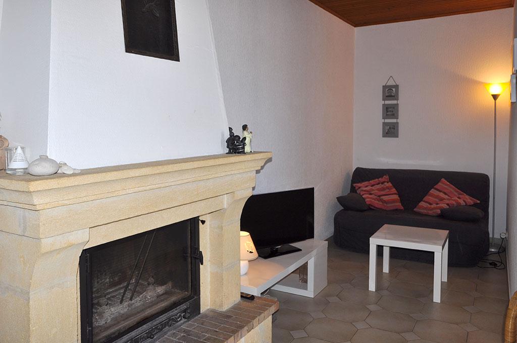 Location 2 Bouyer, coin salon, Oléron