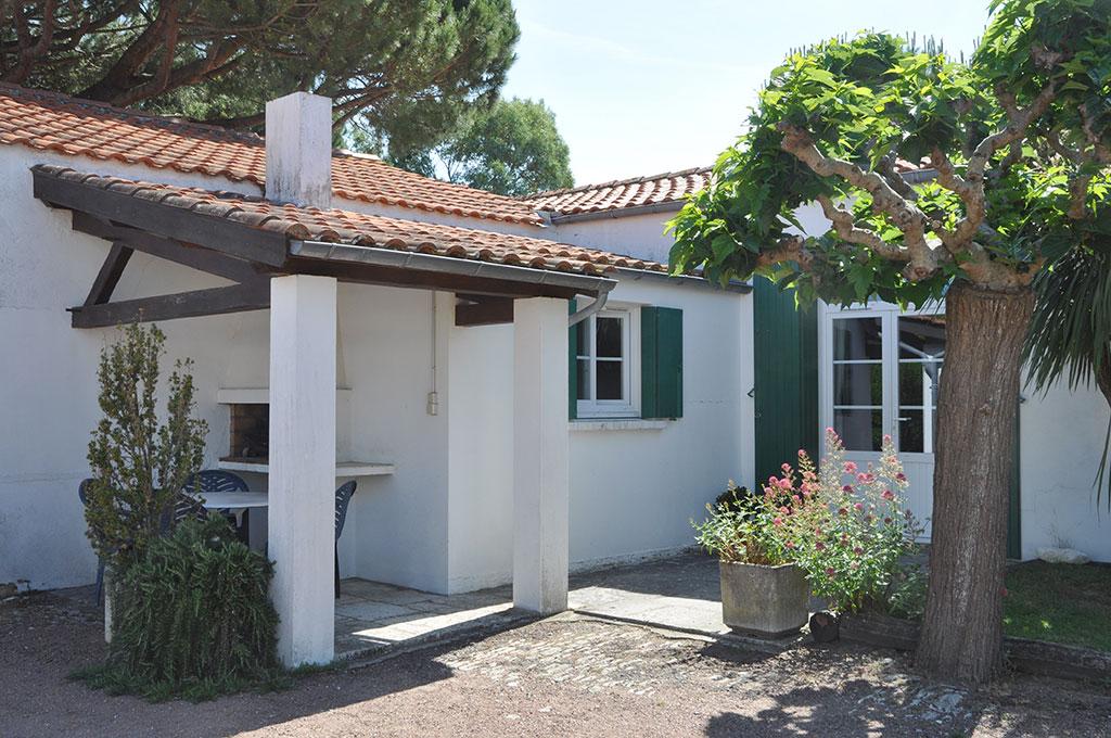 Location 2 Bouyer, île d'Oléron, terrasse
