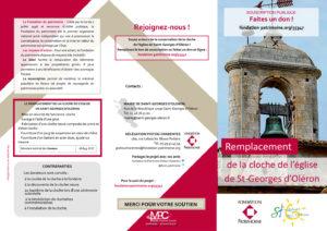 Remplacement de la cloche de St Georges Oléron - 1