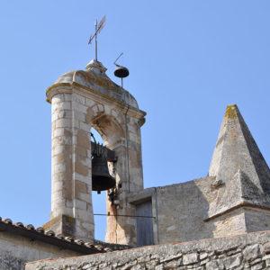 Eglise de St Georges Oléron, la cloche
