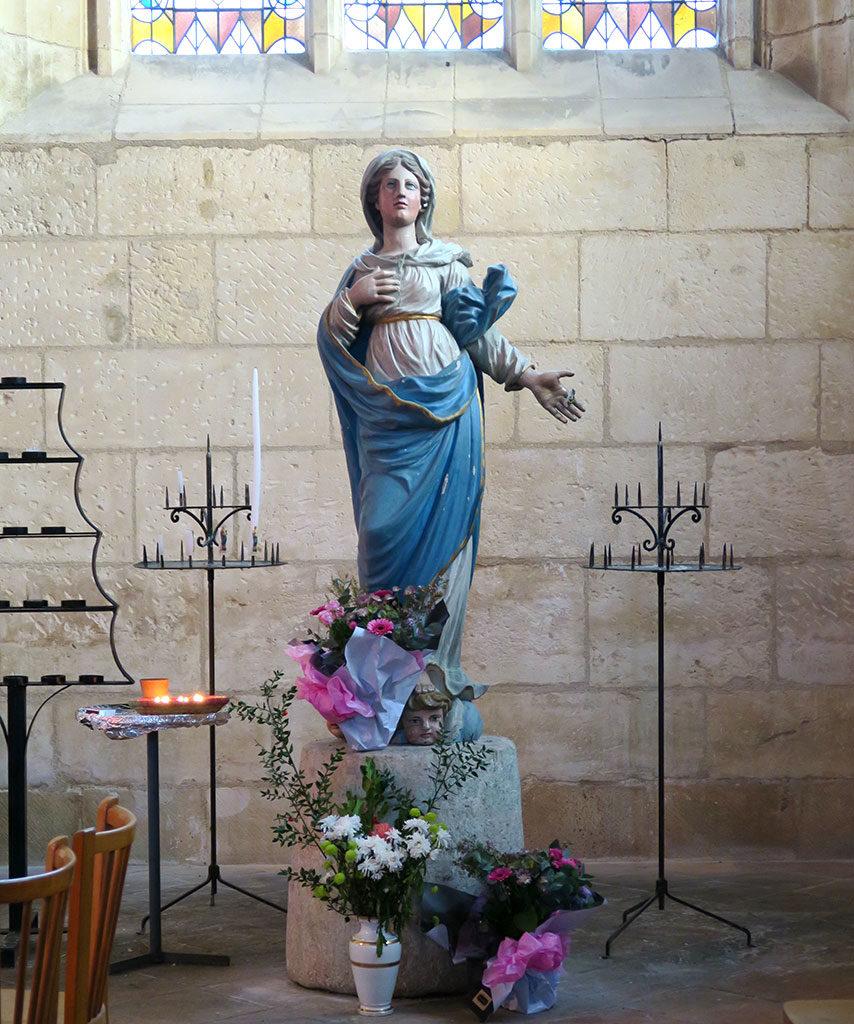 Eglise de St Georges d'Oléron, notre Dame en l'Ile