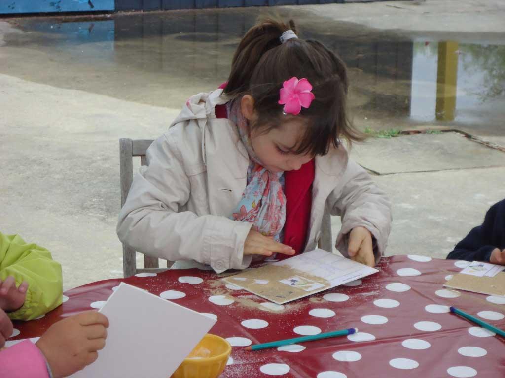 Port des Salines à Oléron. Atelier pédagogique