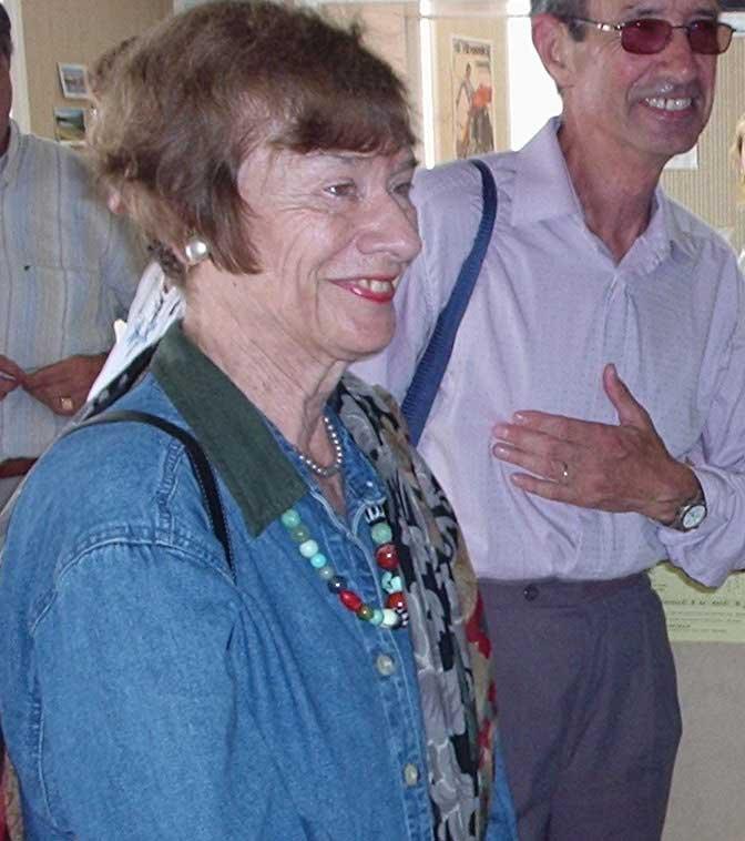 Olga ANDREYEV et Jean BODIOU. Oléron
