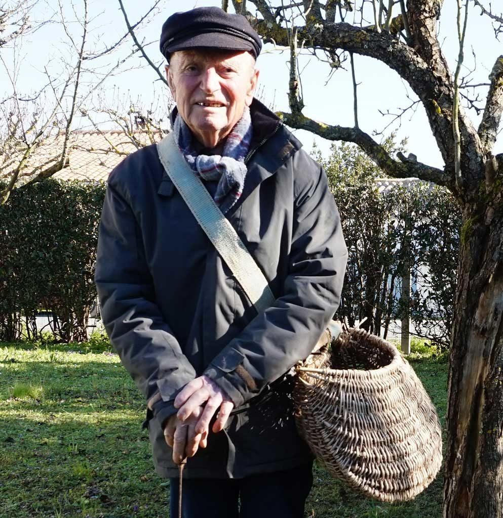 Roger Bithonneau, écrivain-paysan, île d'Oléron