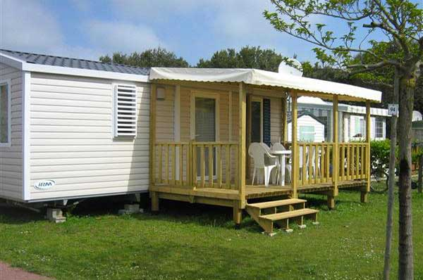 Camping les Flots N°4, île d'Oléron, location mobil-home