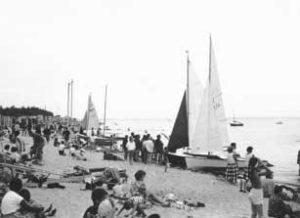 Régate plage de la Boirie, île d'Oléron