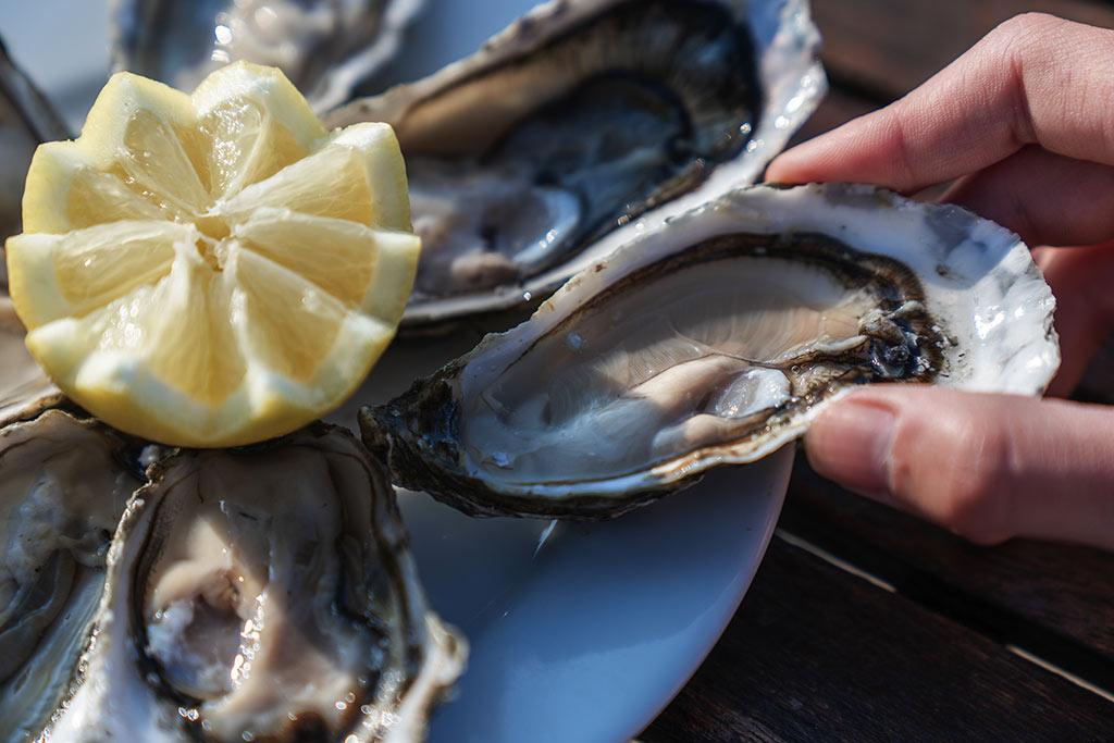 Novotel Oléron, huîtres et fruits de mer