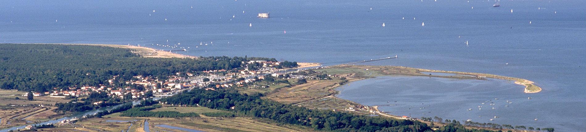Boyardville et port de plaisance, île d'Oléron