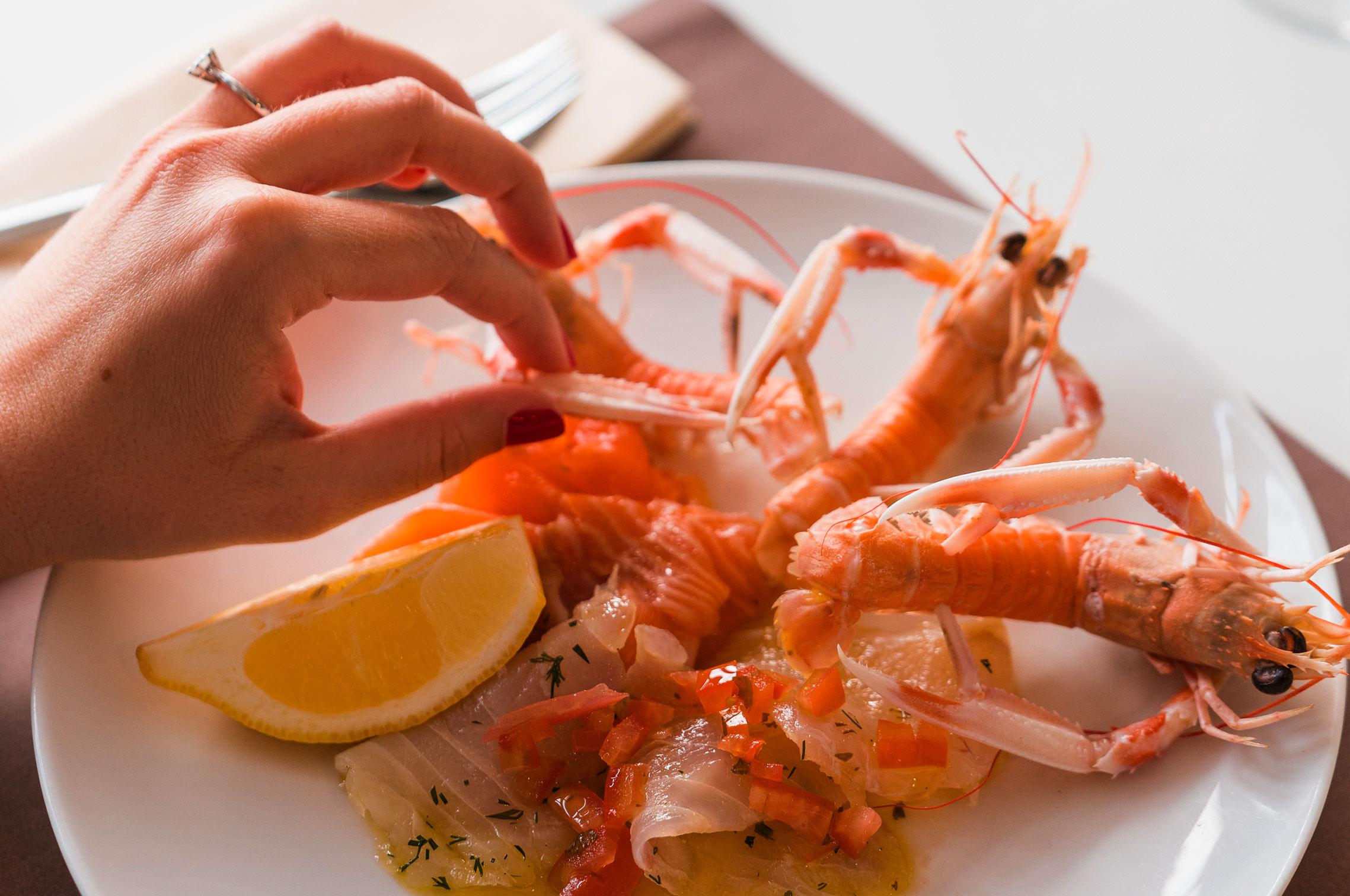 Restaurant Novotel Thalassa île d'Oléron fruits de mer