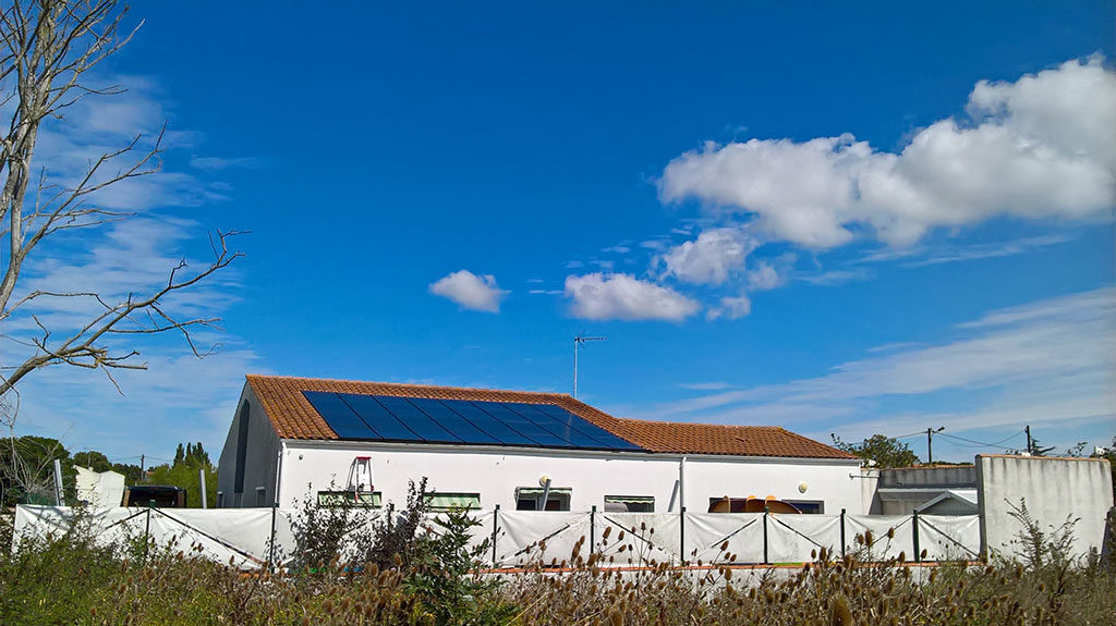Installations photovoltaïques, crèche de St Pierre d'Oléron
