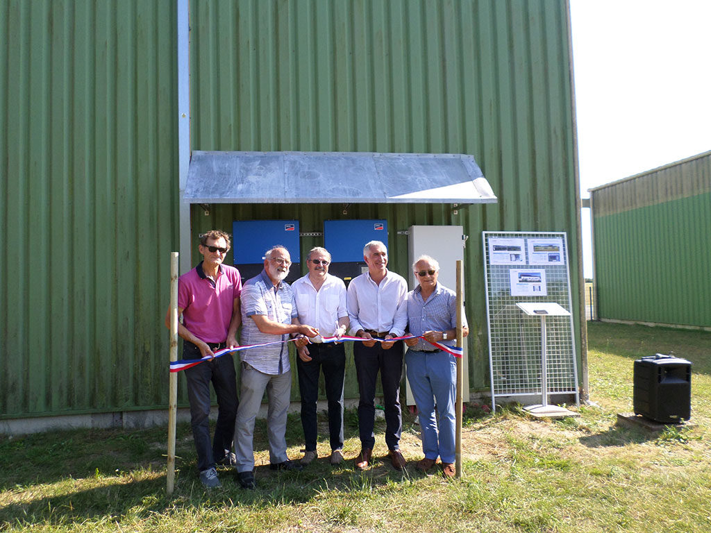Île d'Oléron, inauguration Installations photovoltaïques