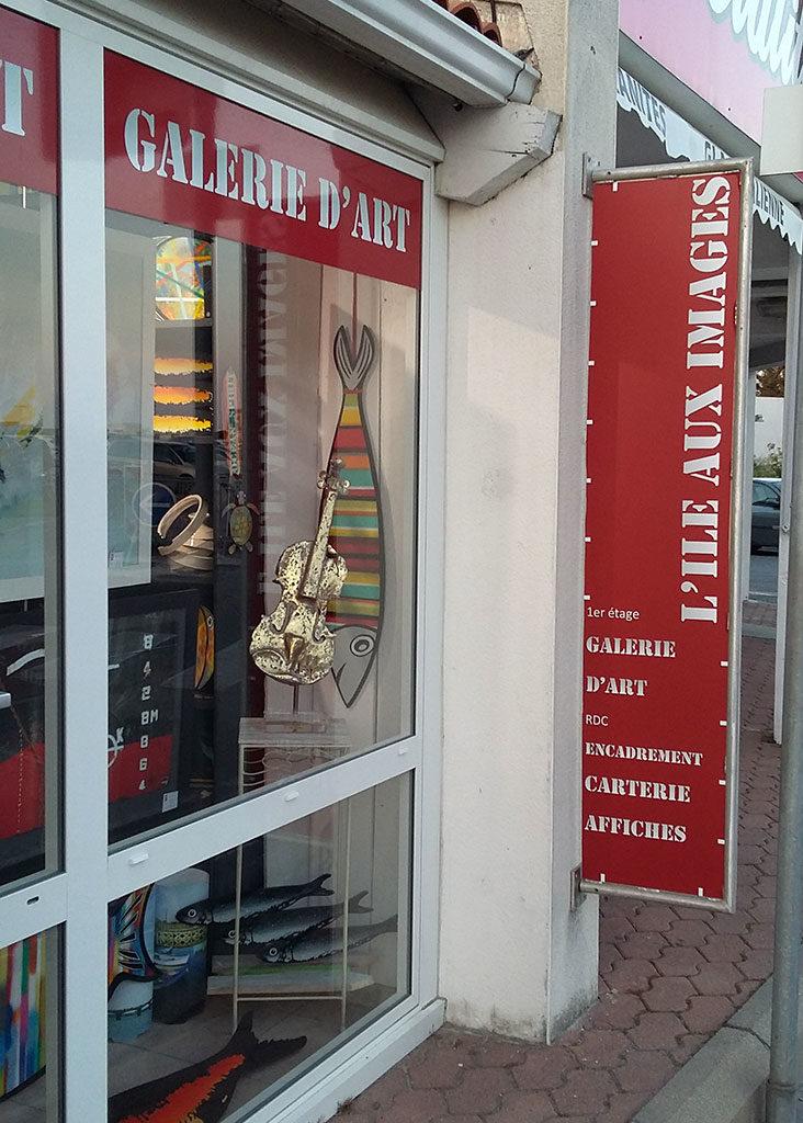 Galerie d'art île d'Oléron