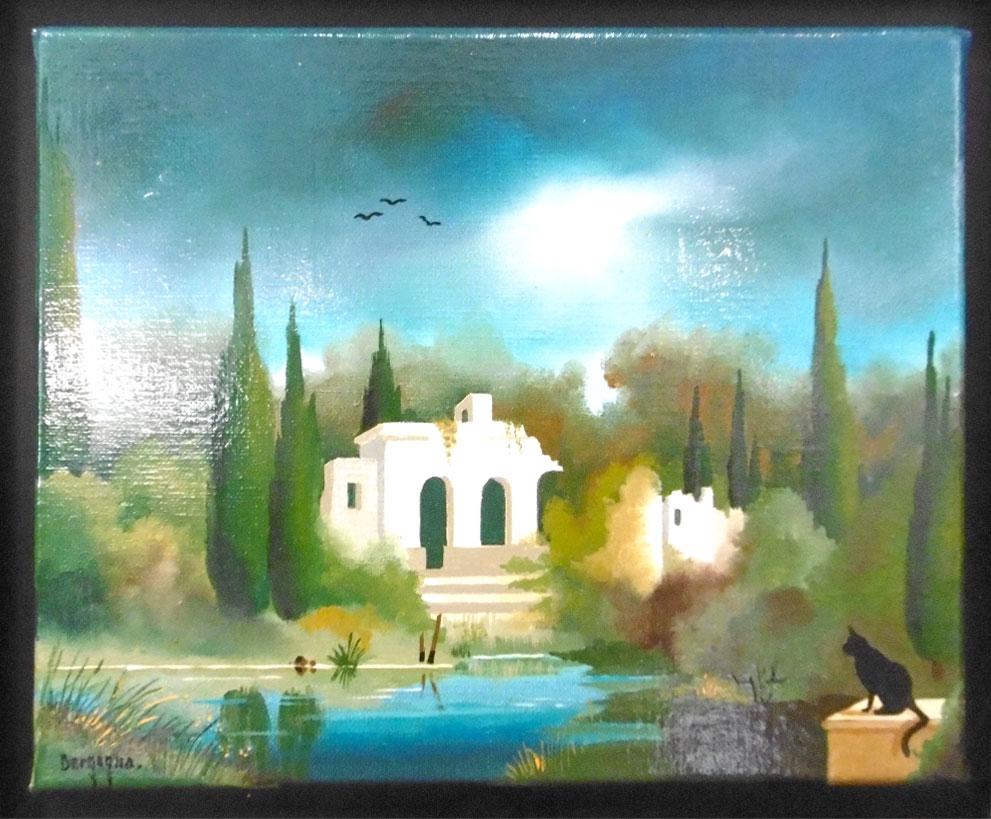 Ile aux Images, exposition Bergagna, île d'Oléron