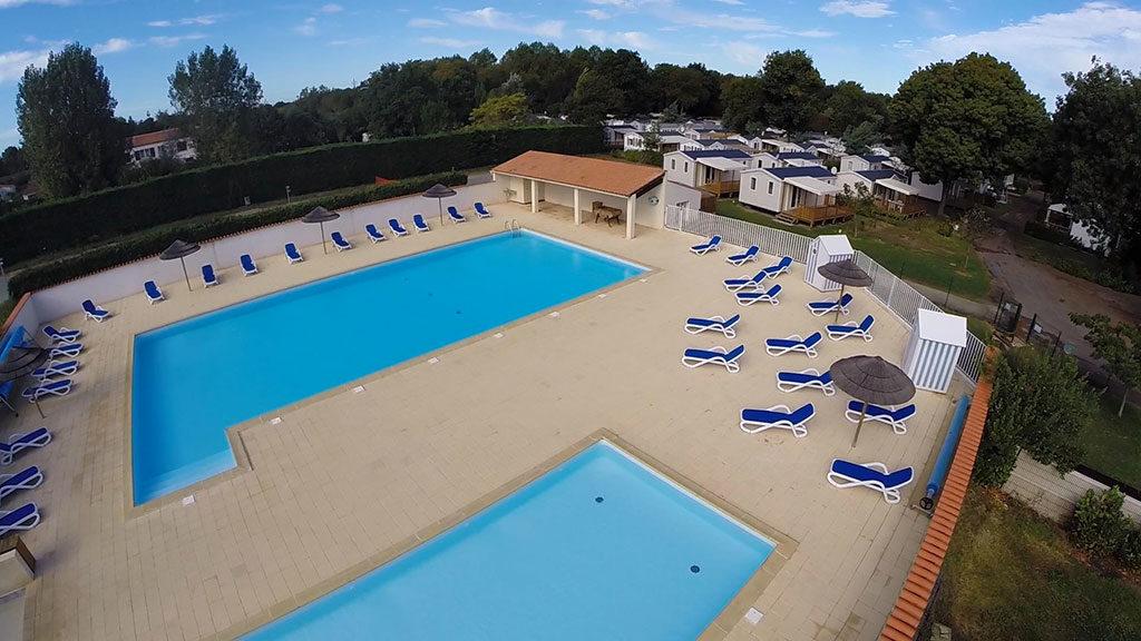 Camping les Floralies, Oléron, piscine