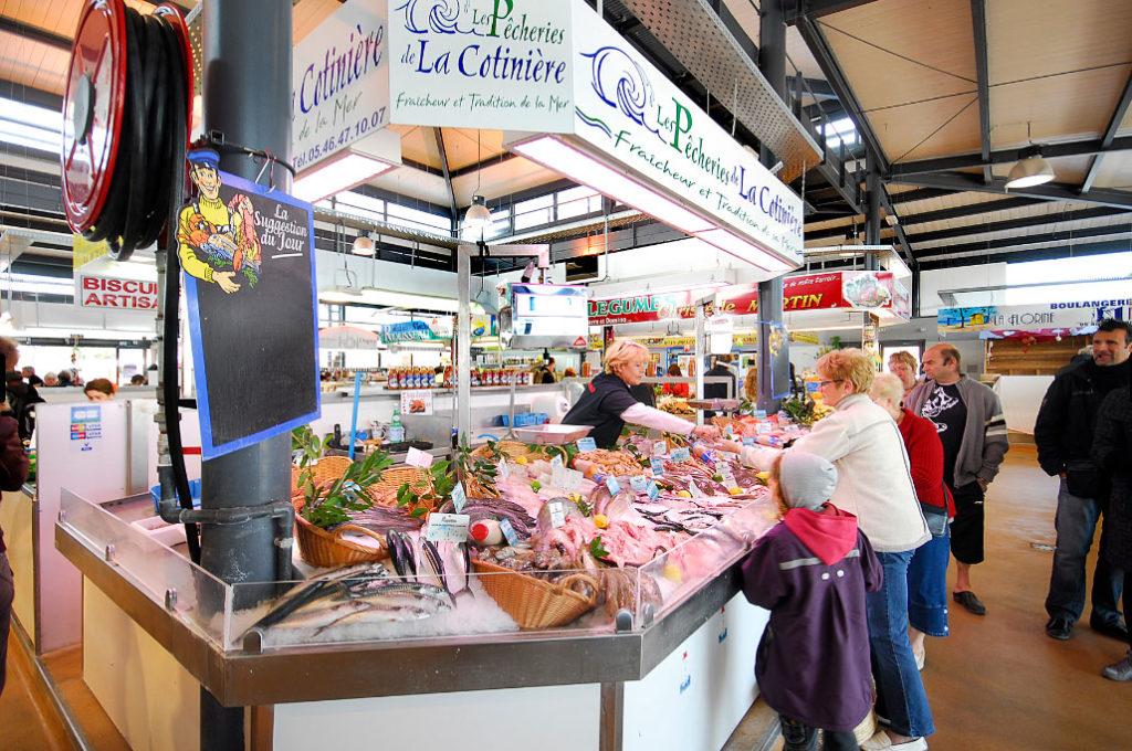 Pêcheries de la Cotinière, marché de St Pierre d'Oléron