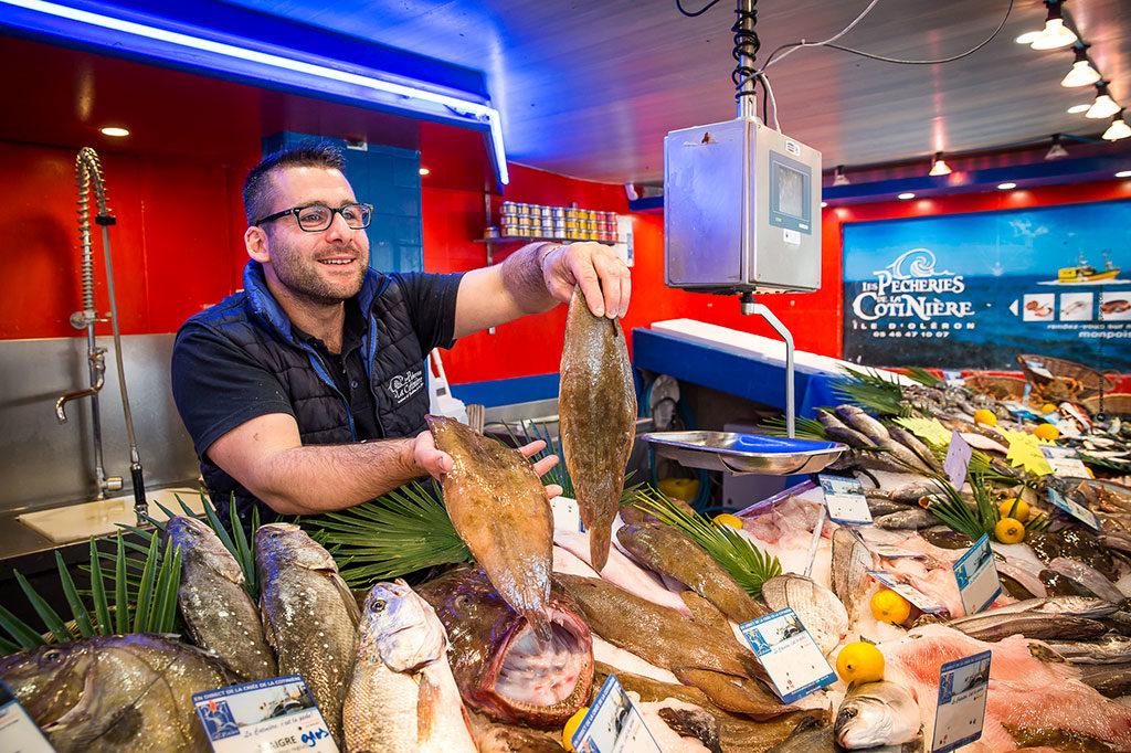Les pêcheries de la Cotinière sur les marchés d'Oléron