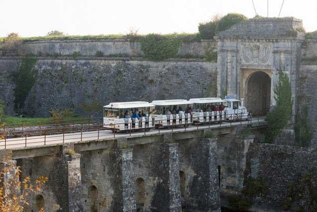 Petit train le Château d'Oléron