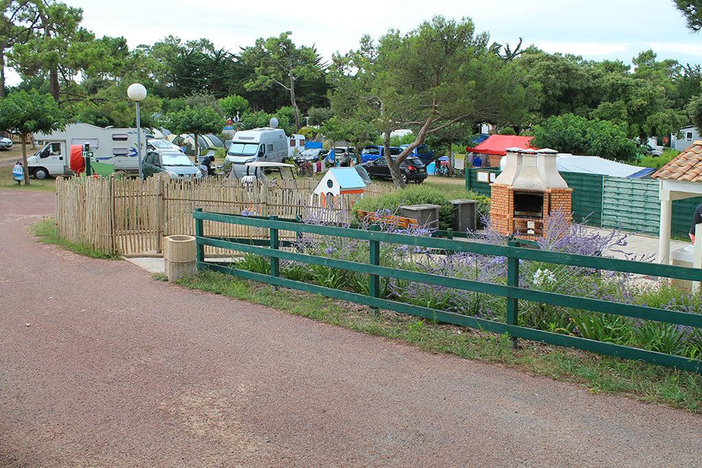 Camping les Sables Vignier île d'Oléron, camping traditionnel