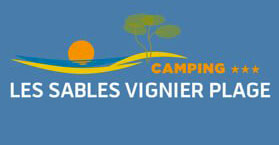 Camping les Sables Vignier, logo, île d'Oléron
