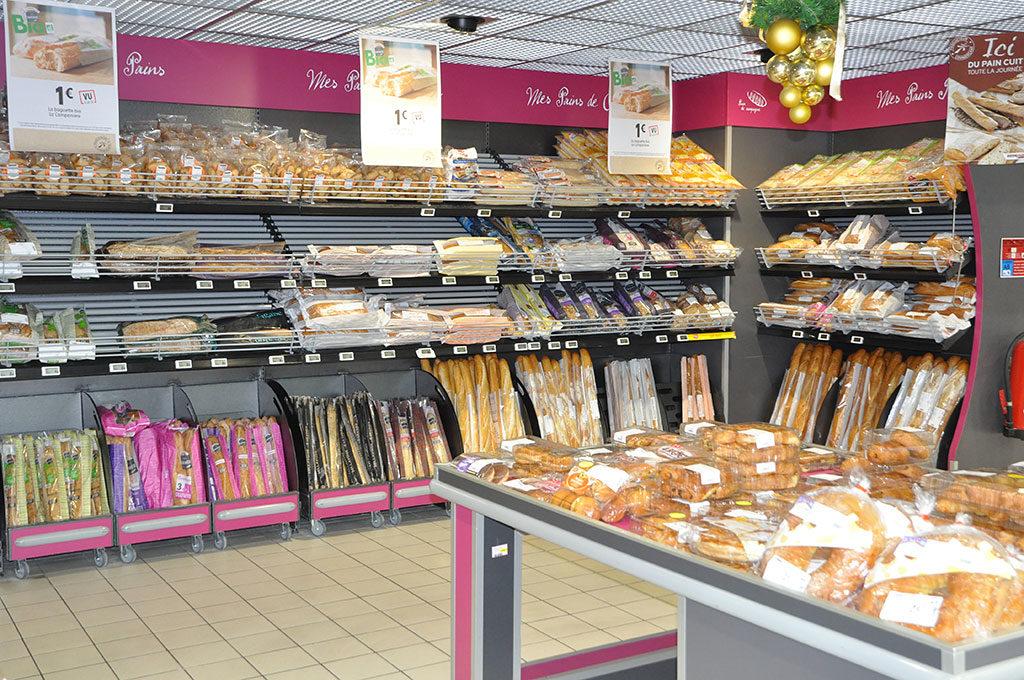 Intermarché île d'Oléron, boulangerie