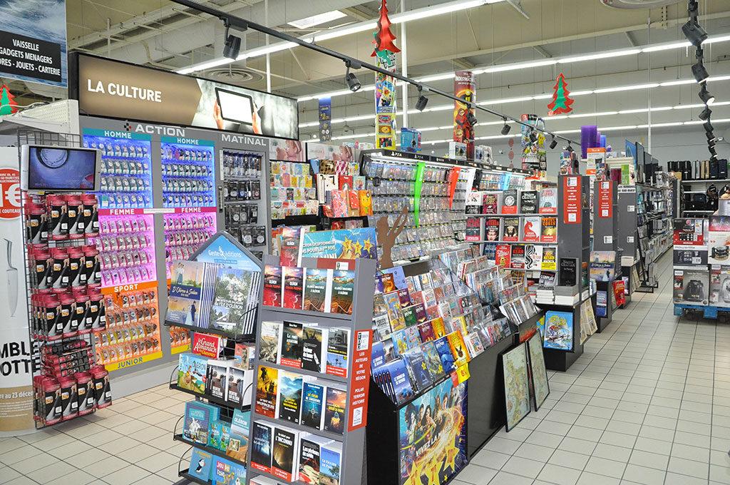 Intermarché Oléron, espace culturel