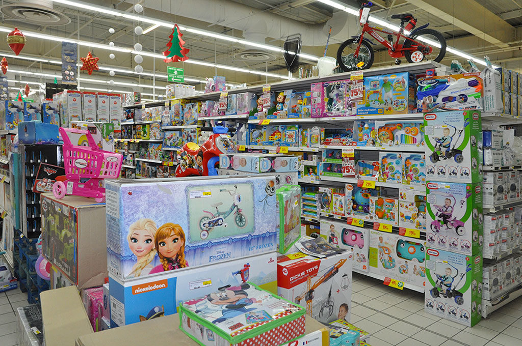 Intermarché Oléron, rayon jouets