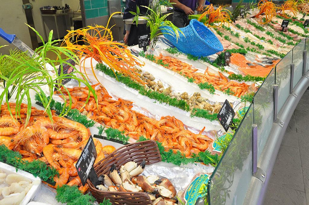 Intermarché île d'Oléron, poissonnerie