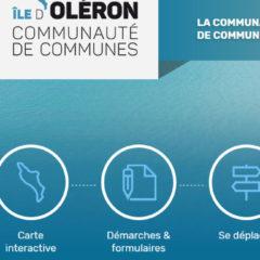 Nouveau site internet de la Communauté de communes de l'île d'Oléron