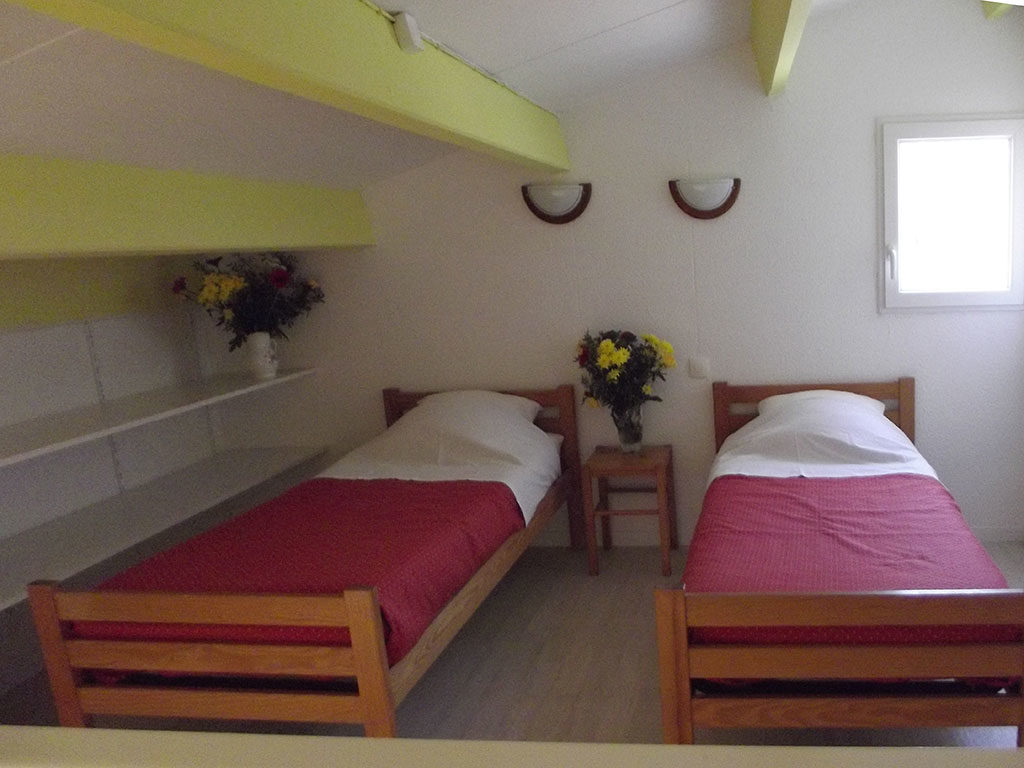 Résidence vacances la Forêt, île d'Oléron, chambre 2 lits