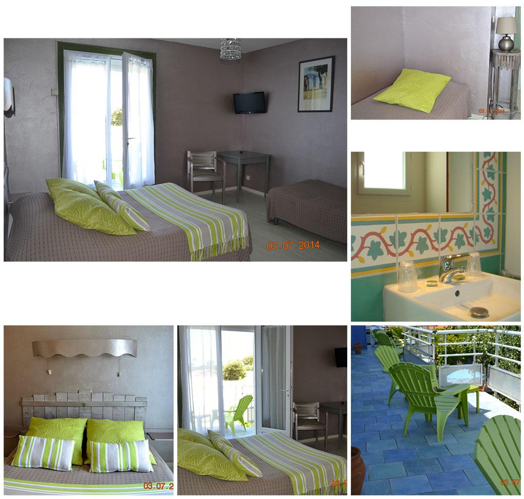 Atlantic hôtel - Oléron, une chambre
