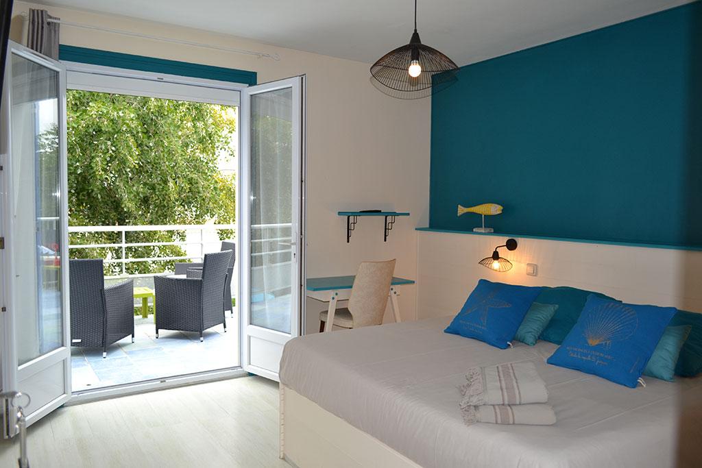 Atlantic chambre terrasse île d'Oléron