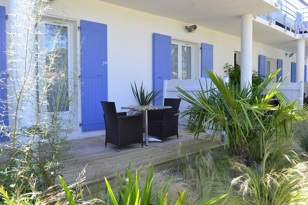 Atlantic hôtel jardin terrasse île d'Oléron