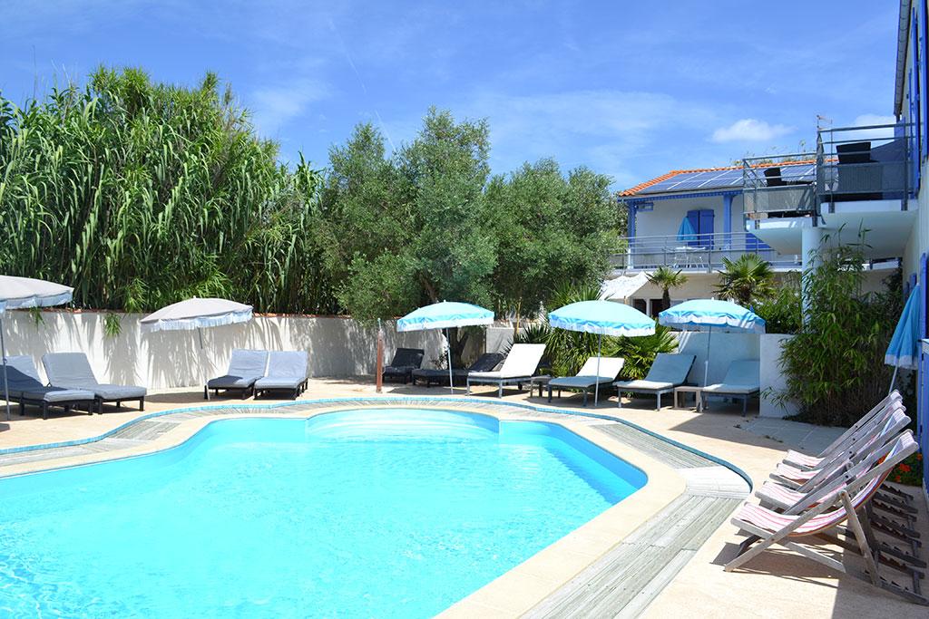 Atlantic hôtel piscine île d'Oléron