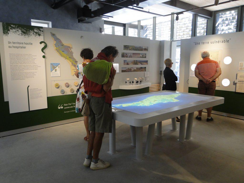 La Maison éco-paysanne, île d'Oléron carte interactive
