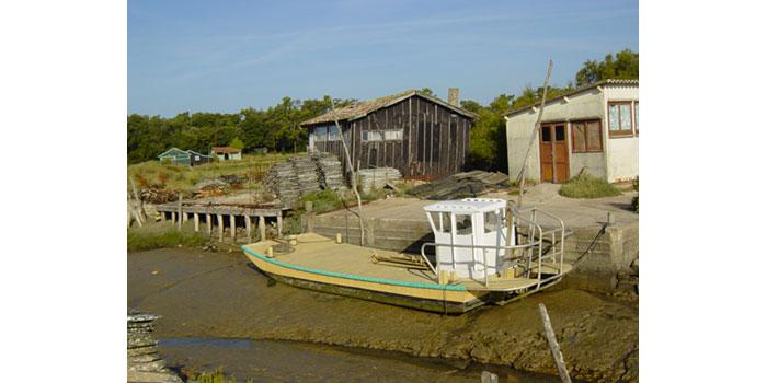 Valorisation du patrimoine ostréicole de Fort-Royer sur l'Ile d'Oléron