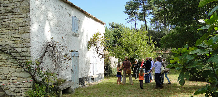 La Maison éco-paysanne, île d'Oléron, visite commentée