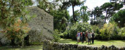 La Maison éco-paysanne, île d'Oléron, le parc