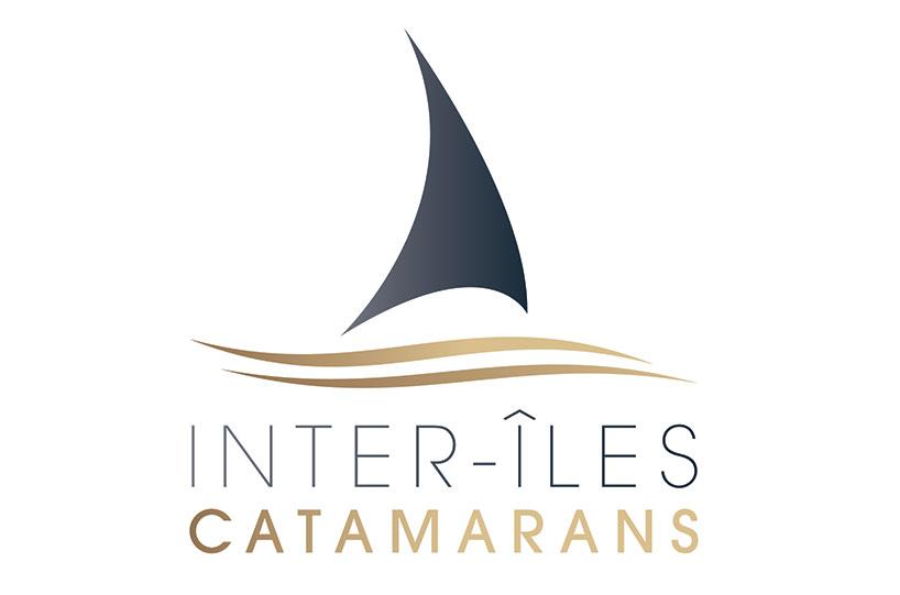 Inter-îles catamaran, île d'Oléron, logo