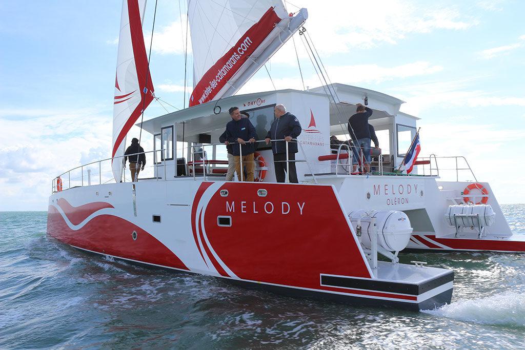 Coisière en catamaran Oléron