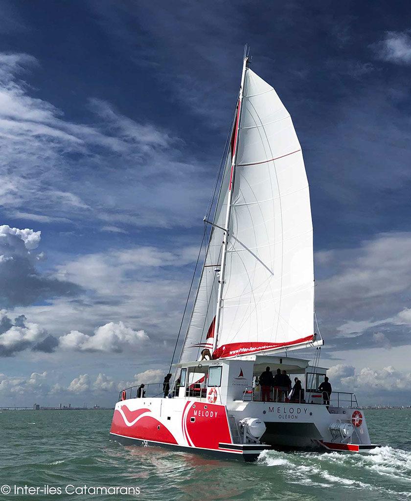 Melody, croisière en catamaran au départ de l'île d'Oléron